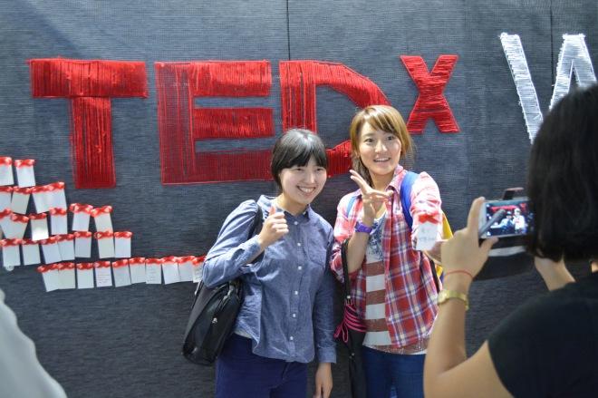 TEDxWasedU Display, Photo © TED