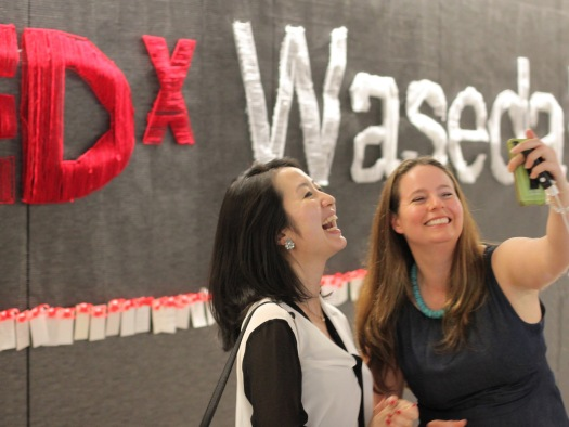 TEDxWaseda Display