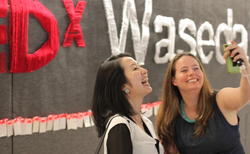 TEDxWaseda Display